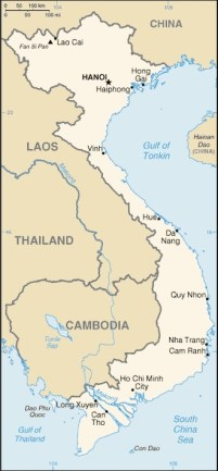 Vietnam map- Kid World Citizen