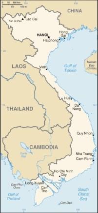 Vietnam map- Kid World Citizen