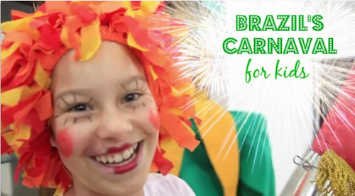 Brazil Carnaval for Kids Costumes and Music!