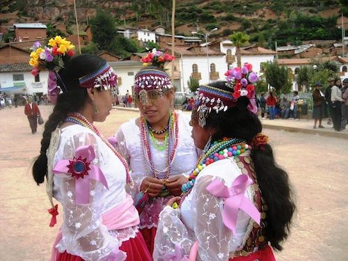 Peruvian Folkloric Dances- Las Pallas in Llamellin, Peru- Kid World Citizen