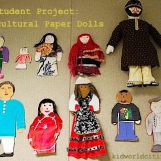 Multicultural Paper Dolls- Kid World Citizen