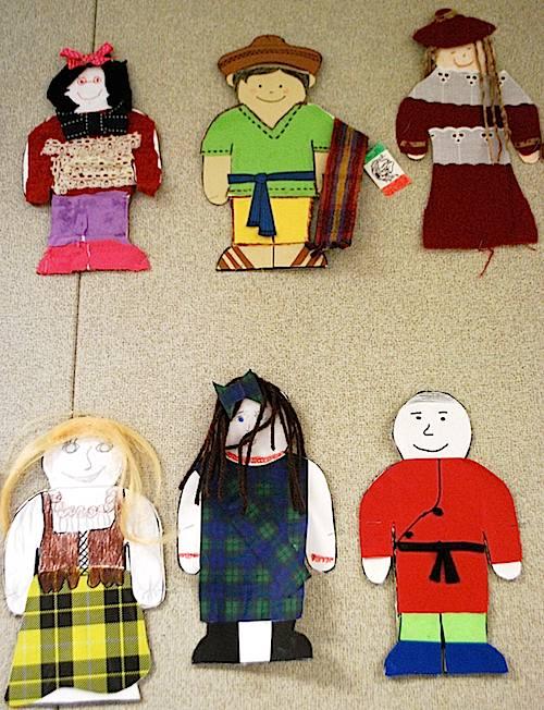 Paper Dolls from Around the World- Kid World Citizen