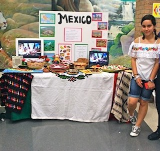 Interactive Country Tables for International Night