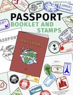 Kid World Citizen Passport Booklet and Stamps International World Global Citizen