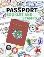 Kid World Citizen Passport Booklet and Stamps International World Global Citizen