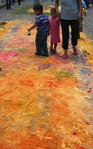 End of Alfombras- Kid World Citizen