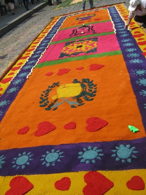 Bright Sawdust Alfombra- Kid World Citizen