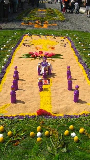 Guatemalan Easter Alfombras Antigua- Kid World Citizen