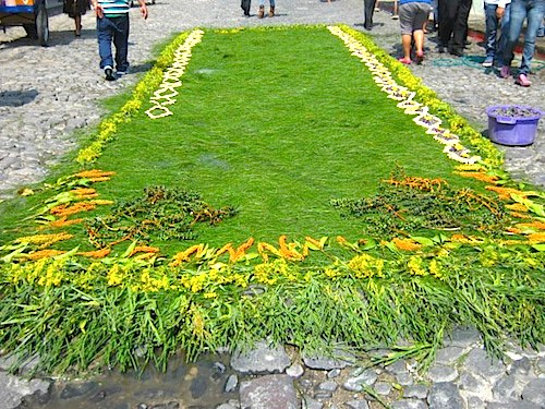 Guatemala Alfombras Holy Week- Kid World Citizen