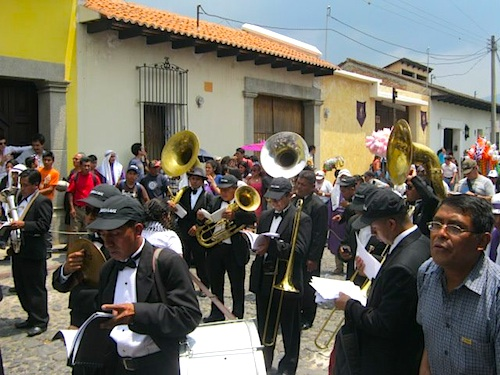 Musicians Semana Santa Processions- Kid World CItizen