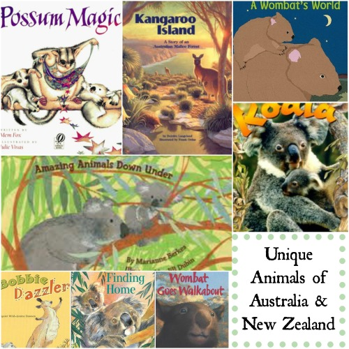 Unique Australian Animals Kids- Kid World Citizen