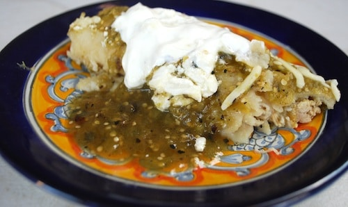 Enchiladas Suizas Serving- Kid World Citizen