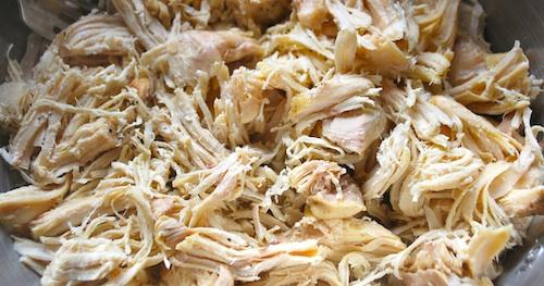 Shredded Chicken for Enchiladas