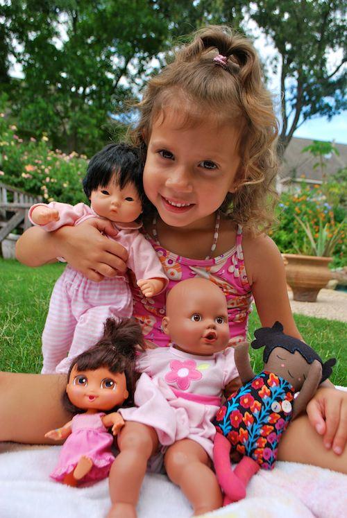 Multicultural Baby Dolls- Kid World Citizen