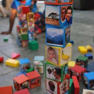 Multicultural Global Wooden Blocks Kids Toys- Kid World Citizen