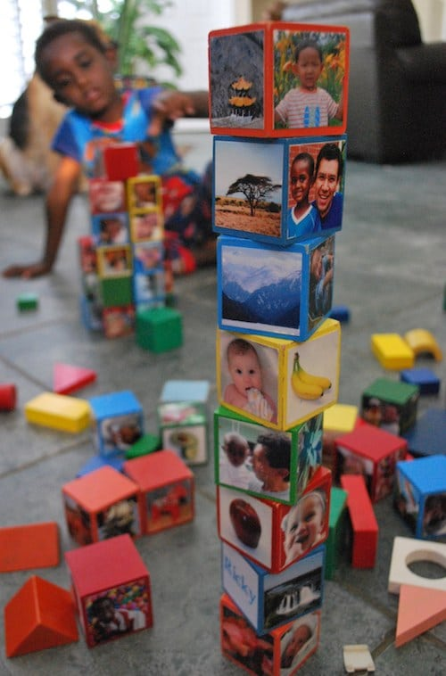 Multicultural Global Wooden Blocks Kids Toys- Kid World Citizen