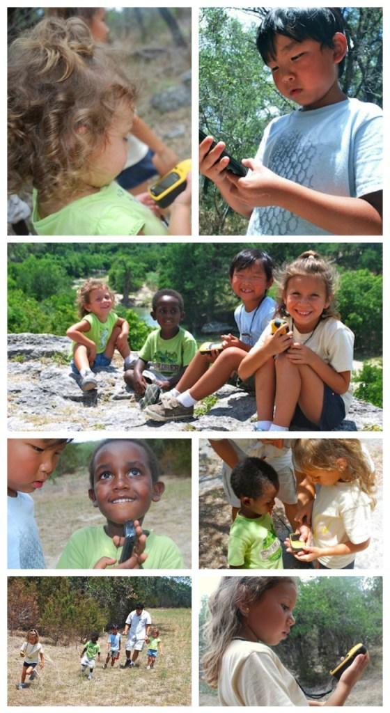 Geocaching with Kids- Kid World Citizen