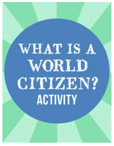 What is a World Citizen- Kid World Citizen
