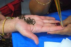 Henna Application- Kid World Citizen