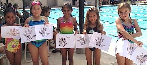 Kids Henna Craft Outside- Kid World Citizen