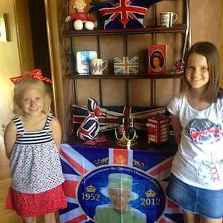 A Diamond Jubilee Party for Kids