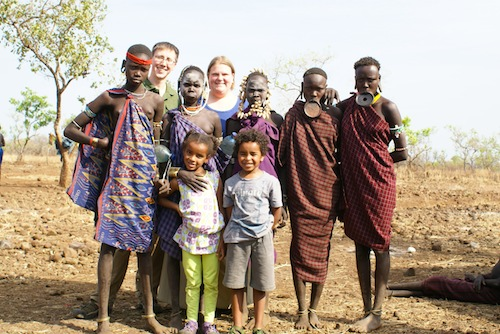 Kids Visiting the Mursi Tribe in Ethiopia- Kid World Citizen