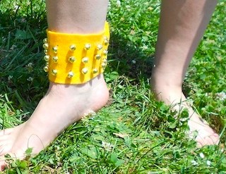 Make Your Own Ghungroo – Indian Style Ankle Bells