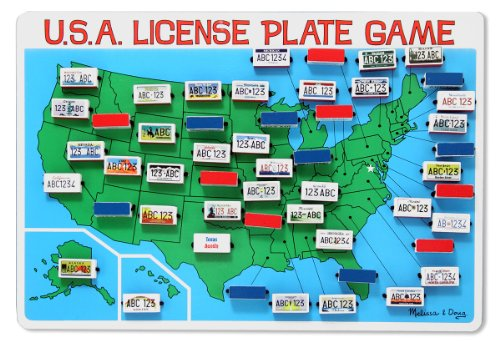 License Plate Games to Play in the Car- Kid World Citizen