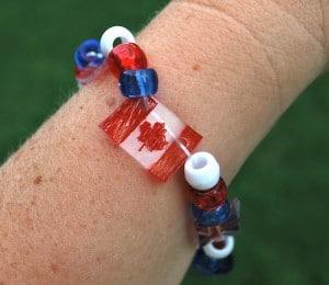 Shrinky Dink Flag Bracelets- Kid World Citizen