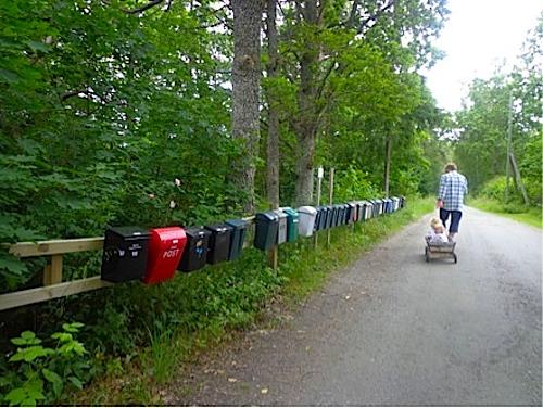 Mailboxes Sweden- Kid World Citizen