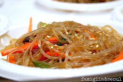 Korean Japchae Dish- Kid World Citizen