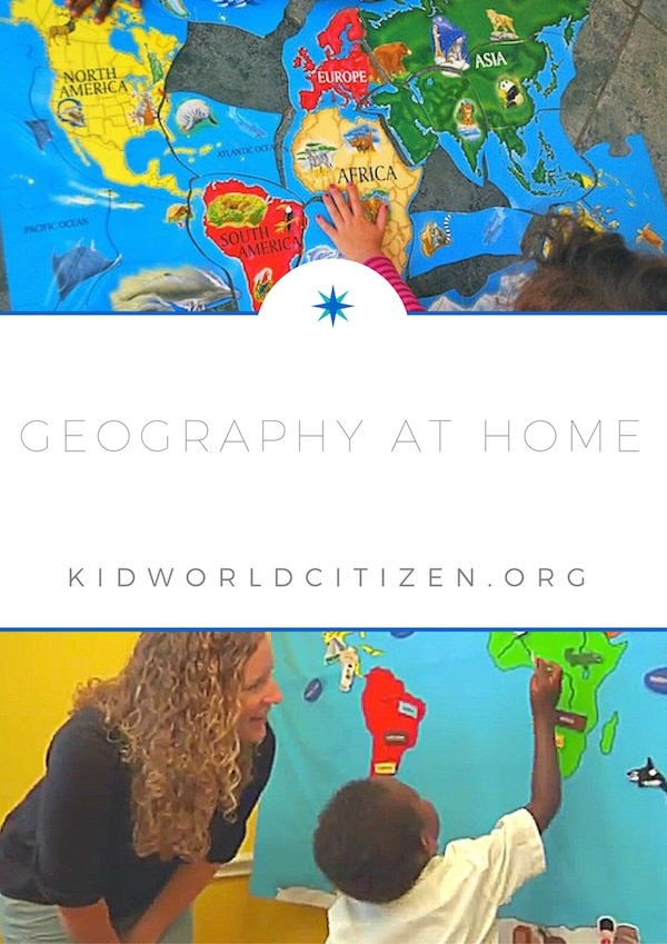 Geography at home- Kid World Citizen