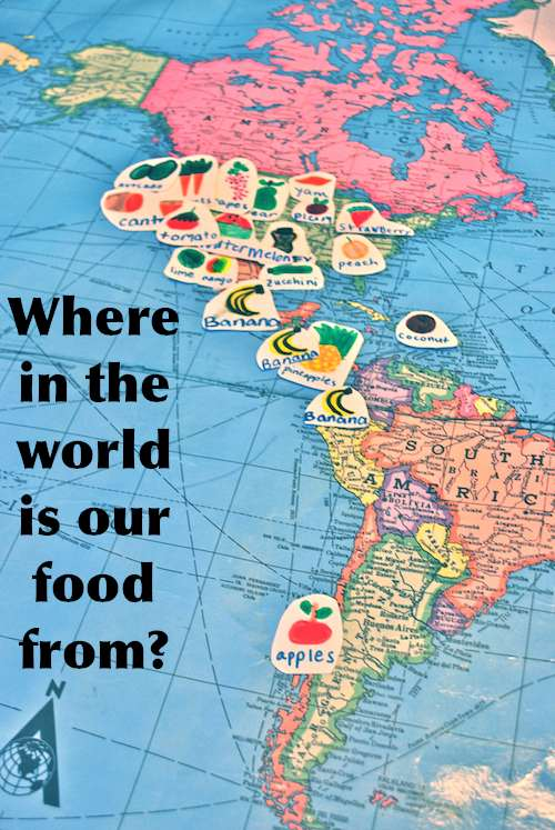 Where in the world is your food from food mapping kid world citizen gumiabroncs Image collections