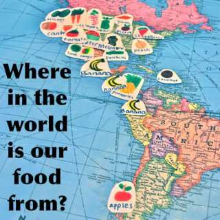 Where in the World is your Food From? (Food Mapping!)