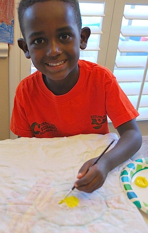 Kids Painting Batik Craft- Kid World Citizen