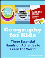 What is Geography Bundle for Kids- Kid World Citizen