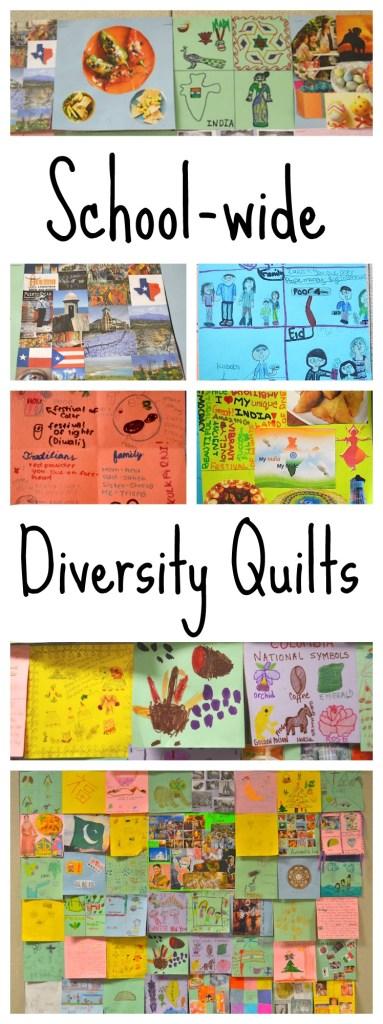 Diversity Quilts for International Week Kids- Kid World Citizen