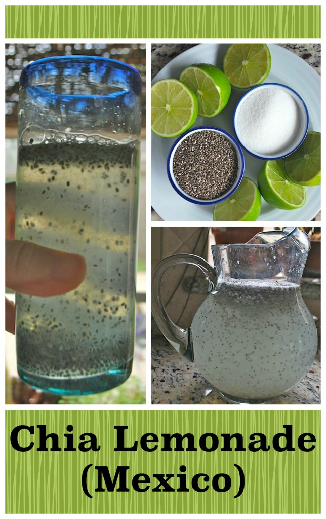 Mexican Chia Lemonade- Kid World Citizen