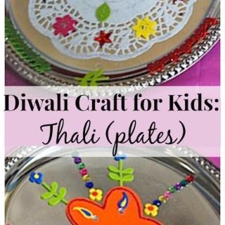 DIwali Craft for Kids Thali- Kid World Citizen
