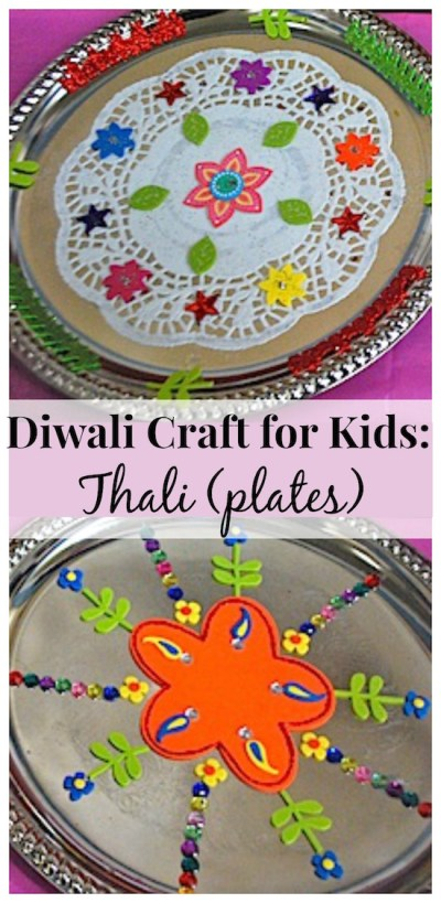 DIwali Craft for Kids Thali- Kid World Citizen
