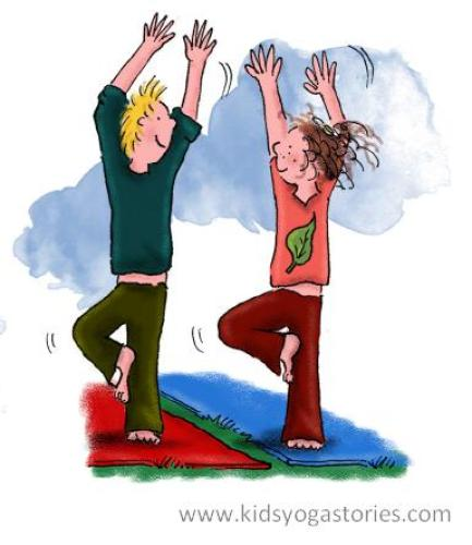 Yoga for Kids- Kid World Citizen