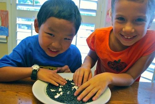 Sorting Beans for Feijoada- Kid World Citizen