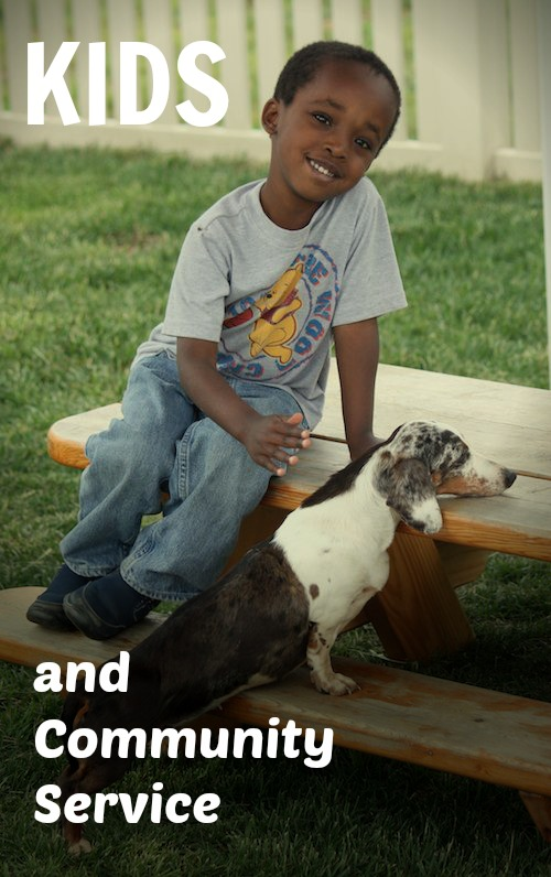 Kids Volunteering Animals- Kid World Citizen