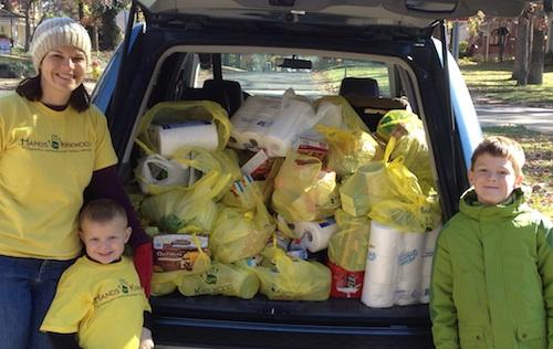 Kids Volunteering Collecting Food- Kid World Citizen