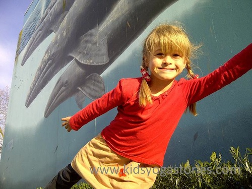 Yoga for Kids Whale Pose- Kid World Citizen