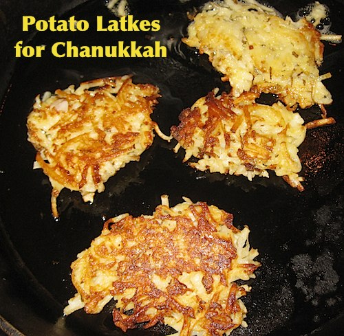 Potato Latke Recipe for Chanukkah- Kid World Citizen