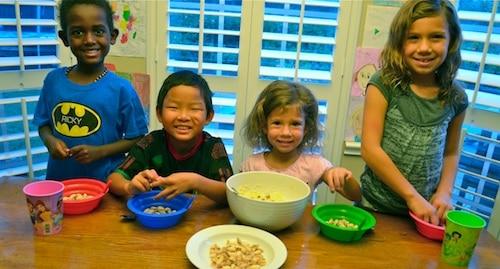Making Sweet Couscous Morocco-Kid World Citizen