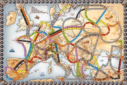 Ticket to Ride Europe- Kid World Citizen
