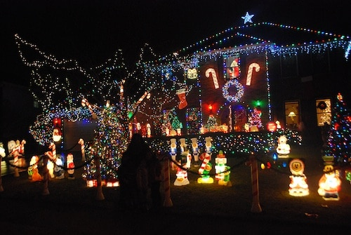 Crazy Christmas Lights- Kid World Citizen
