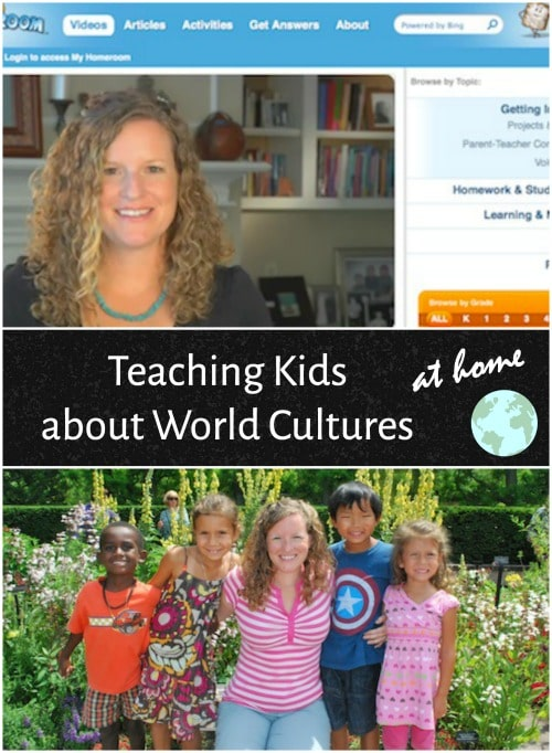 Teaching about Cultures Home Adoptive- Kid World Citizen